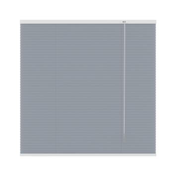 GAMMA plissé dupli lichtdoorlatend 6016 grijs 140x220 cm