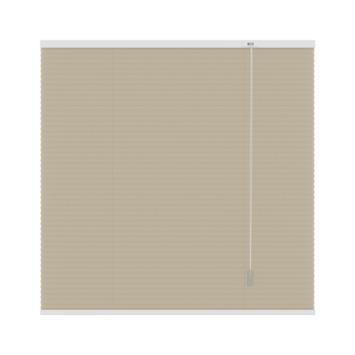 GAMMA plissé dupli lichtdoorlatend 6017 zand 180x180 cm