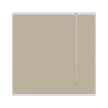 GAMMA plissé dupli lichtdoorlatend 6017 zand 60x220 cm