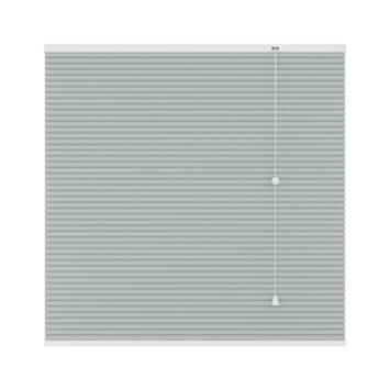 GAMMA plissé dupli verduisterend 6018 licht grijs wit 140x220 cm