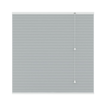 GAMMA plissé dupli verduisterend 25 mm 6018 licht grijs 80x180 cm