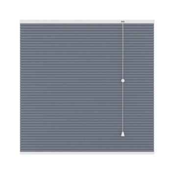 GAMMA plissé dupli verduisterend 25 mm 6019 grijs 160x180 cm