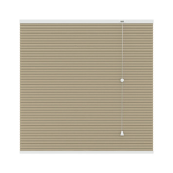 GAMMA plissé dupli verduisterend 6021 zand 200x220 mm