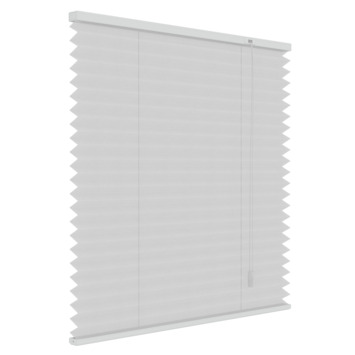 GAMMA plissé lichtdoorlatend 6010 wit 140x180 cm