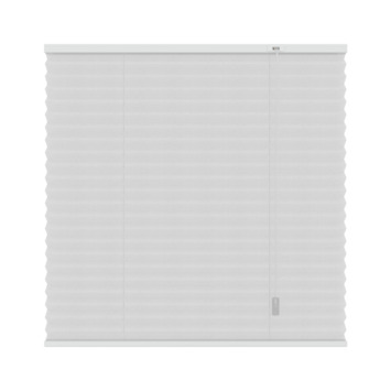 GAMMA plissé lichtdoorlatend 6010 wit 60x220 cm