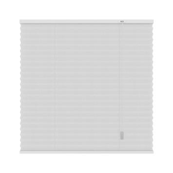 GAMMA plissé lichtdoorlatend 6010 wit 80x180 cm