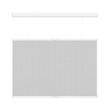 GAMMA plissé dupli TDBU lichtdoorlatend koordloos 6001 wit 60x180 cm