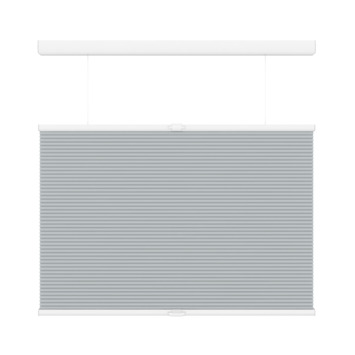 GAMMA plissé dupli TDBU lichtdoorlatend koordloos 6006 licht grijs 120x180 cm