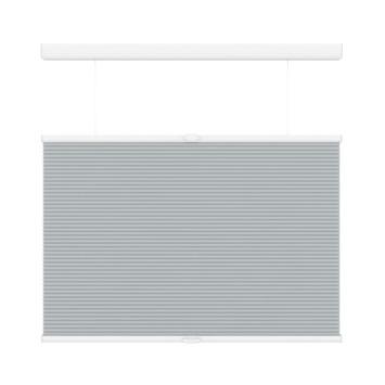 GAMMA plissé dupli TDBU lichtdoorlatend koordloos 6006 licht grijs 140x180 cm