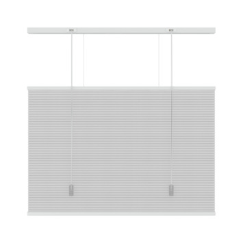 GAMMA plisse duo top down bottum up lichtdoorlatend 6001 wit 80x220