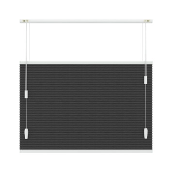 GAMMA plisse duo top down bottom up verduisterend 6013 antraciet 60x180
