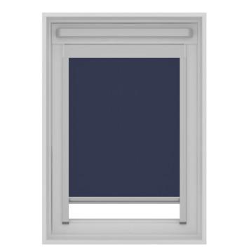 GAMMA dakraam rolgordijn VELUX 7003 donker blauw 134x140 cm