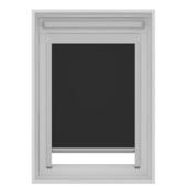 GAMMA dakraam rolgordijn VELUX 7005 zwart 114x118 cm