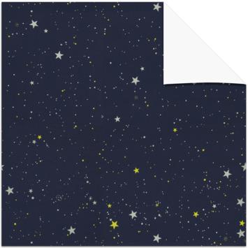 GAMMA dakraam rolgordijn VELUX 7006 donkerblauw ster 78x98 cm