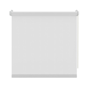 GAMMA rolgordijn draai/kiepraam uni lichtdoorlatend wit 5700 130x160 cm