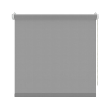 GAMMA rolgordijn draai/kiepraam uni lichtdoorlatend licht grijs 5731 130x160 cm