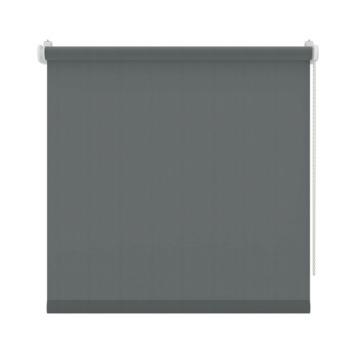 GAMMA rolgordijn draai/kiepraam uni lichtdoorlatend antraciet 5777 130x160 cm