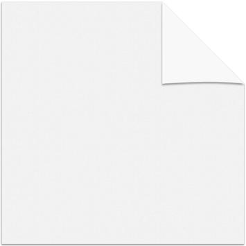 GAMMA rolgordijn draai/kiepraam uni verduisterend sneeuwwit 5715 65x160 cm