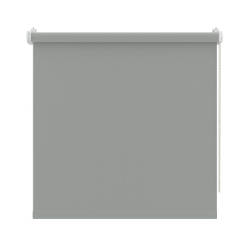 GAMMA rolgordijn draai/kiepraam uni verduisterend muisgrijs 5749 65x160 cm