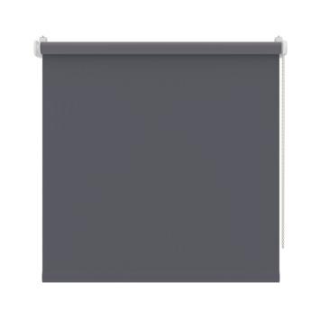 GAMMA rolgordijn draai/kiepraam uni verduisterend antraciet 5756 90x160 cm