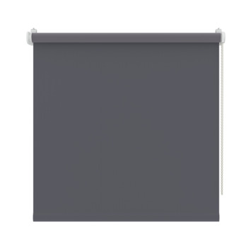 GAMMA rolgordijn draai/kiepraam uni verduisterend antraciet 5756 45x160 cm