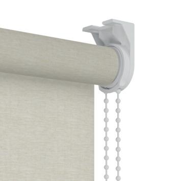 GAMMA rolgordijn dessin lichtdoorlatend 401 beige gemeleerd 60x190 cm