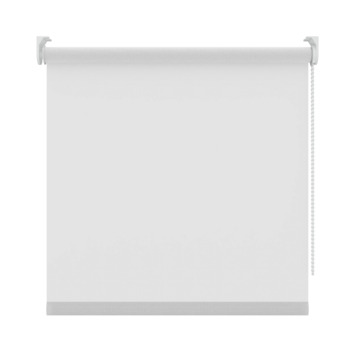 GAMMA rolgordijn uni lichtdoorlatend 833 wit 60x250 cm
