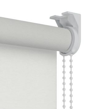 GAMMA rolgordijn dessin lichtdoorlatend 1224 ribbel wit 60x190 cm