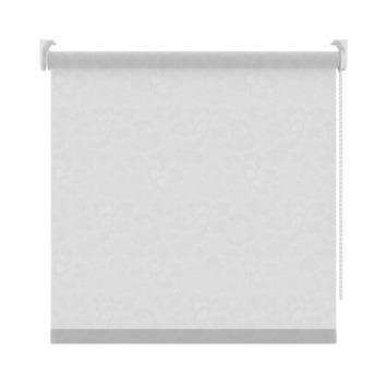GAMMA rolgordijn dessin lichtdoorlatend 2341 wit bloem 180x190 cm
