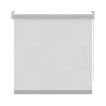 GAMMA rolgordijn dessin lichtdoorlatend 2451 wit 90x190 cm