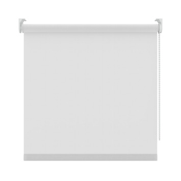 GAMMA rolgordijn uni lichtdoorlatend 5700 wit 120x250 cm