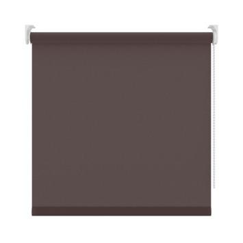 GAMMA rolgordijn uni lichtdoorlatend 5701 bruin 150x190 cm