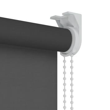 GAMMA rolgordijn uni lichtdoorlatend 1305 zwart 60x190 cm