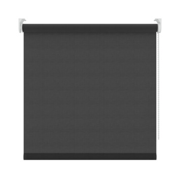 GAMMA rolgordijn uni lichtdoorlatend 1305 zwart 60x250 cm