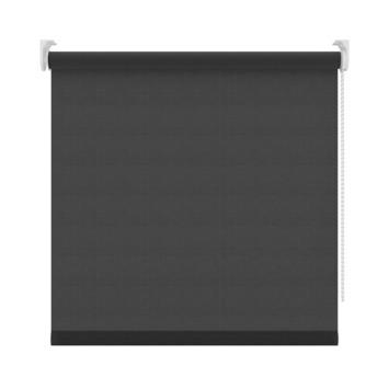 GAMMA rolgordijn uni lichtdoorlatend 1305 zwart 210x190 cm