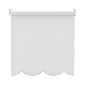 GAMMA rolgordijn uni schulp S24 lichtdoorlatend 833 wit 180x180 cm