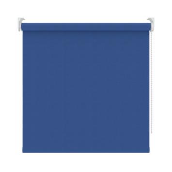 GAMMA rolgordijn uni verduisterend 1071 medaillon blauw 120x190 cm