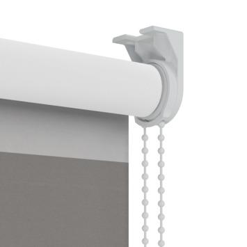 GAMMA rolgordijn dessin verduisterend 2272 banen antraciet/grijs 60x190 cm