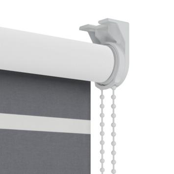 GAMMA rolgordijn dessin verduisterend 2454 grijs 60x190 cm