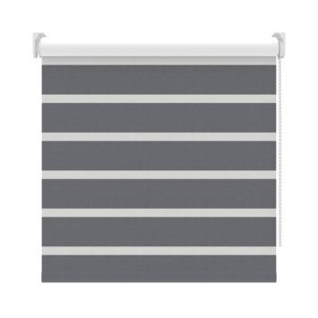 GAMMA rolgordijn dessin verduisterend 2454 grijs 90x190 cm