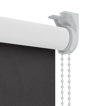 GAMMA rolgordijn dessin verduisterend 3565 zwart 60x190 cm