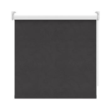 GAMMA rolgordijn dessin verduisterend 3565 zwart 120x190 cm