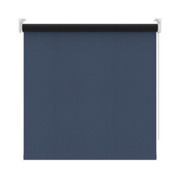 GAMMA rolgordijn dessin verduisterend 3605 visgraat blauw 120x190 cm