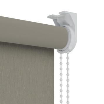 GAMMA rolgordijn dessin verduisterend 3629 warmgrijs structuur 60x190 cm