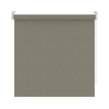 GAMMA rolgordijn dessin verduisterend 3629 warmgrijs structuur 120x190 cm