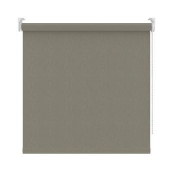 GAMMA rolgordijn dessin verduisterend 3629 warmgrijs structuur 150x190 cm