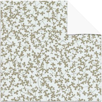 GAMMA rolgordijn dessin verduisterend 3634 bloemen taupe 60x190 cm