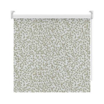 GAMMA rolgordijn dessin verduisterend 3634 bloemen taupe 210x190 cm