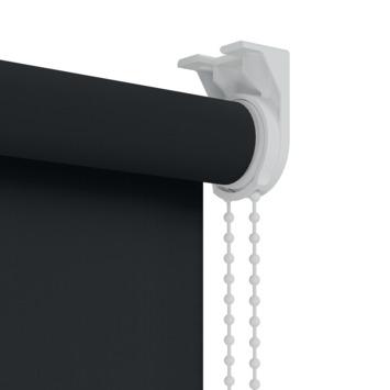 GAMMA rolgordijn uni verduisterend 5710 zwart 120x250 cm