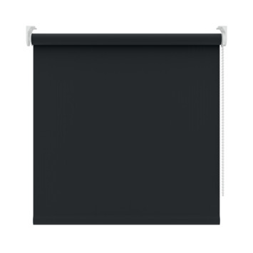 GAMMA rolgordijn uni verduisterend 5710 zwart 150x250 cm